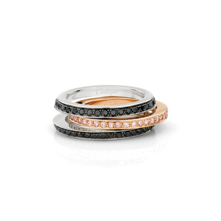 Argyle Pink Diamond Full Circle Wedding Ring