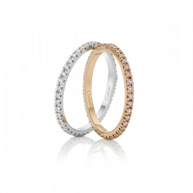 Full Circle White Diamond Eternity Ring