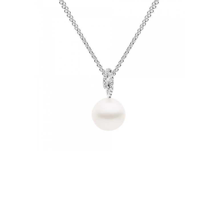 Kailis Pearl and White Diamond Angelic Pendant