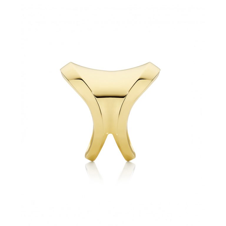 Saddle Yellow Gold Ring