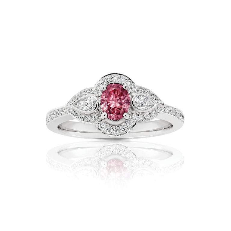 Scarlett Argyle Pink Diamond Engagement Ring