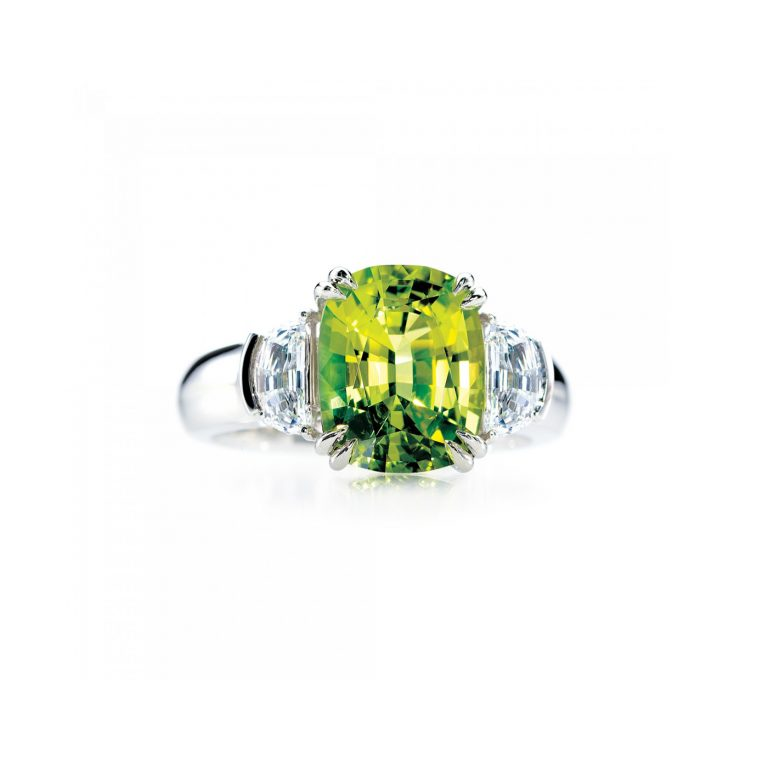 Fancy Chrysoberyl Ring